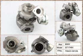 TURBOS - GT1749V-5012S - TURBO 753420