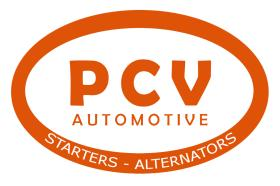 · PAC615007 - DESPIECE STARTER/ALTENATOR PCV